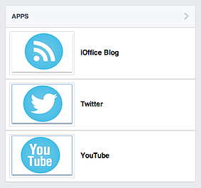 iOffice Facebook Page Apps