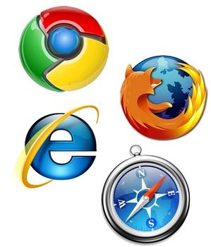 Internet browser options for facilities managers to update