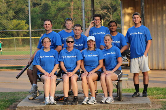 the iOffice softball team