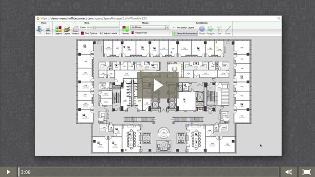 SPACE MODULE IWMS Software Demos