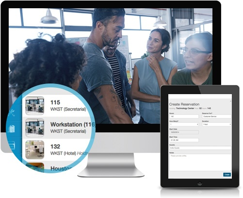 Reservation Module - Integrated Workplace Management System