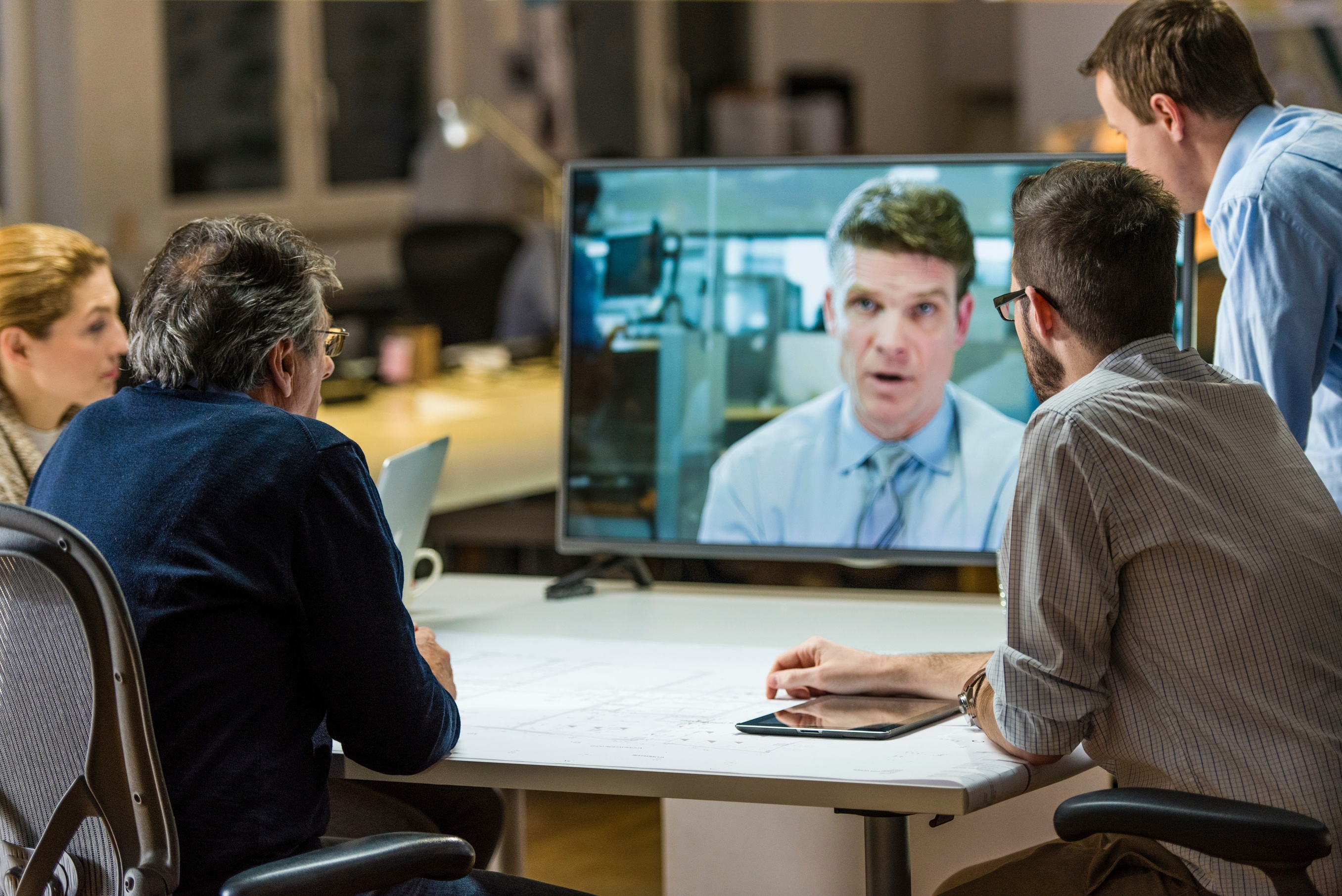 Videoconferencing allows clients to pick up body language cues