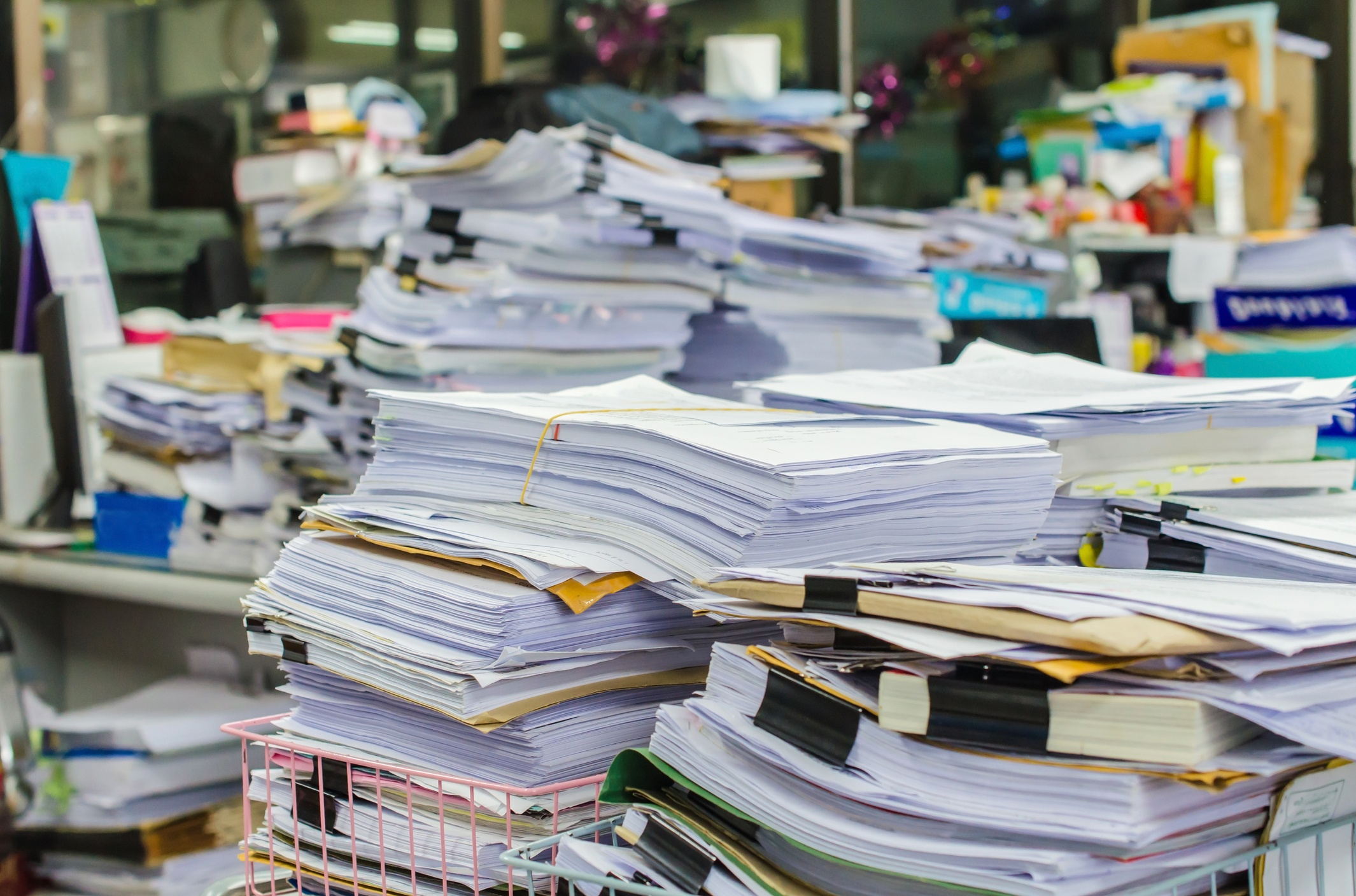 Go paperless, so you can repurpose your file room