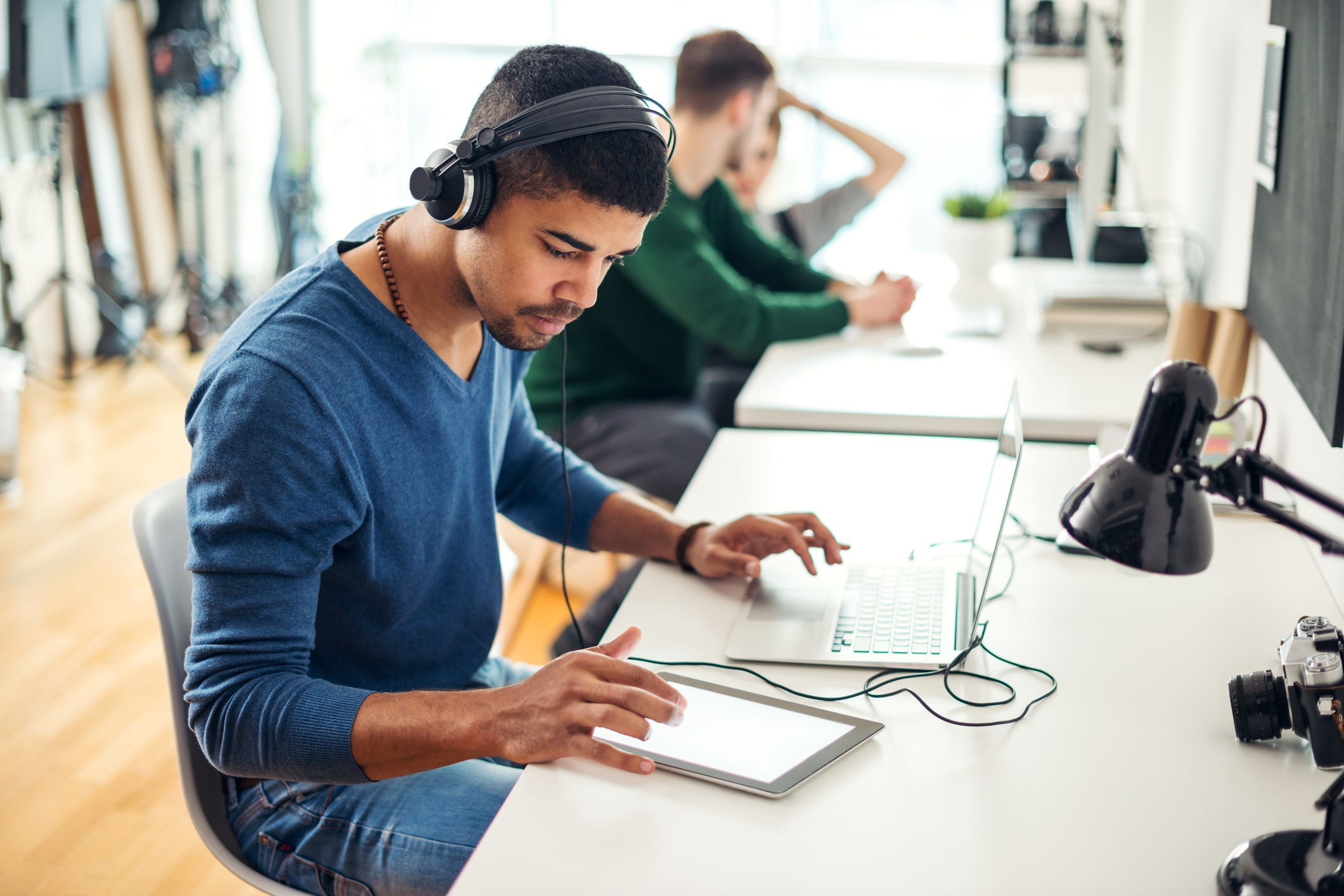 Allow employees to listen to music in the workplace