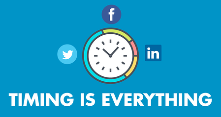 Timing is everything in social media