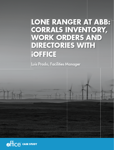 Lone Ranger at ABB: Corrals Inventory, Work Orders and Directories With iOffice